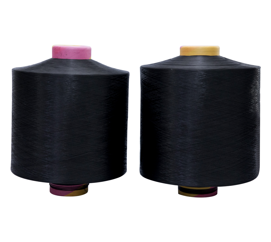 300D/96F Polyester Color Yarns BLACK NIM