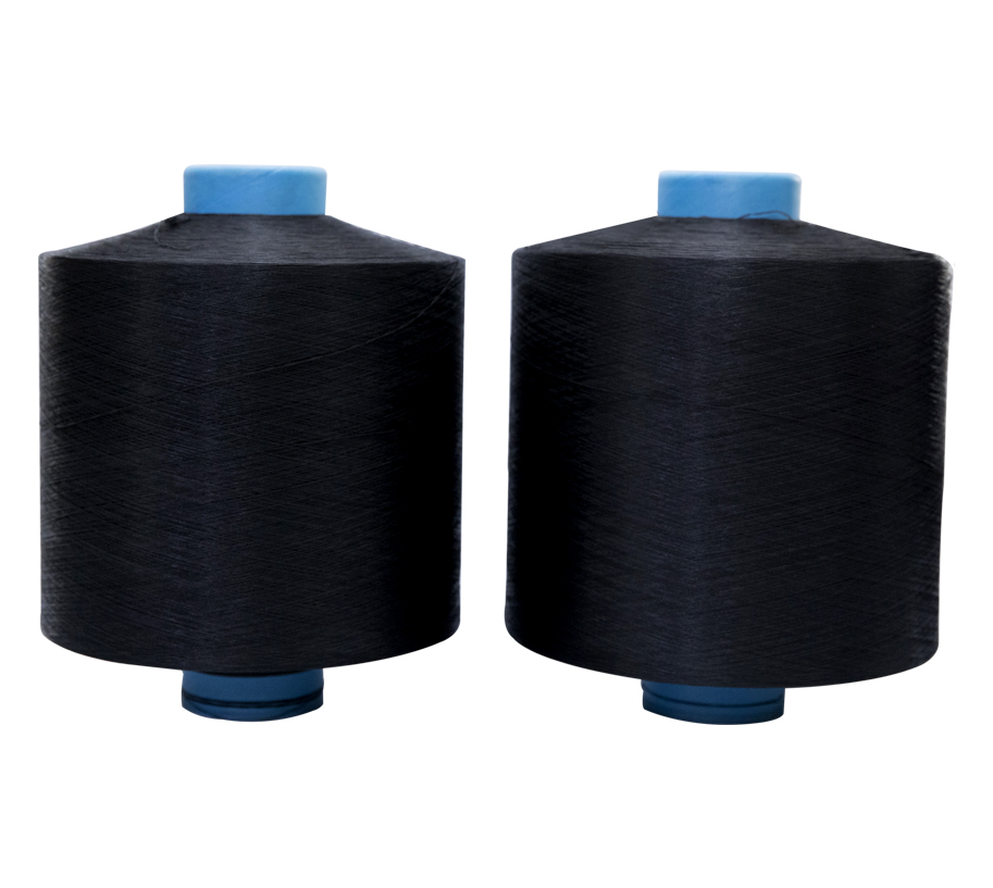 Polyester High Elastic Yarn 450D/192F BLACK S+Z HIM  750/240 900/288 1200/384