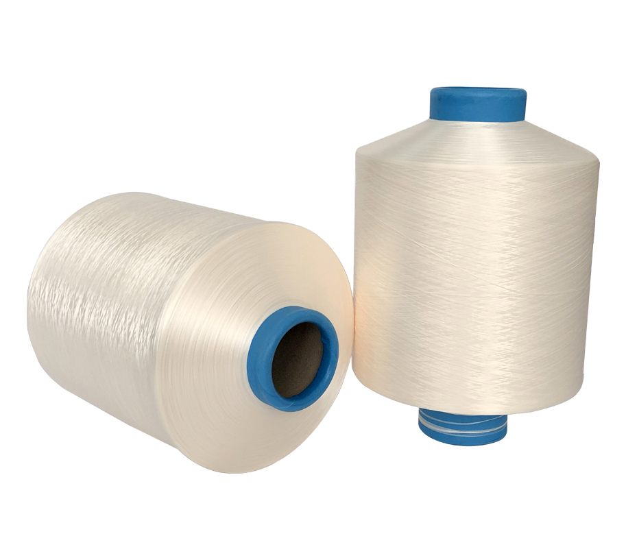 300D Milk white Polyester Yarn