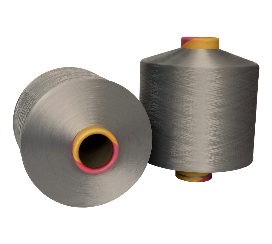 300D Gray Polyester Yarn