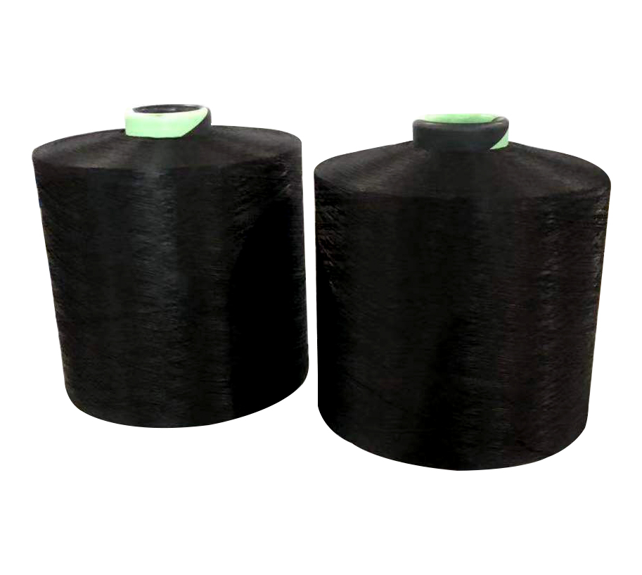 600D192F BLACK S+Z HIM Polyester Yarn
