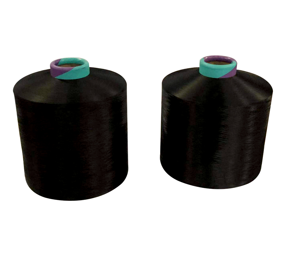 150D48F BLACK NIM Polyester Yarn