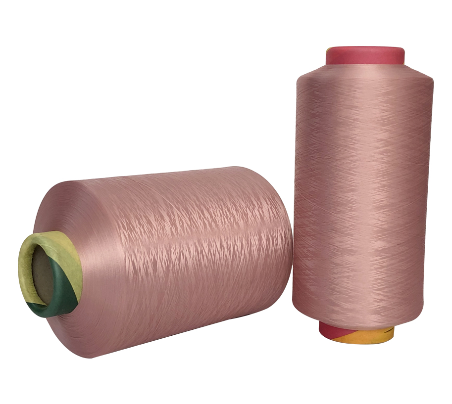 300D Rubber Red Polyester Yarn