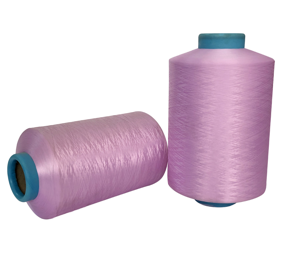300D lilac Polyester Yarn