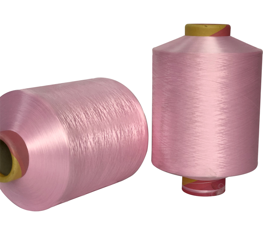 300D Pink Polyester Yarn  750/240 900/288 1200/384