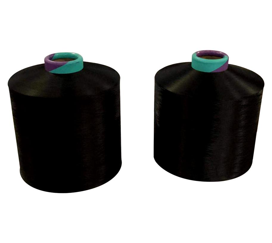 100D36F BLACK NIM Polyester Yarn